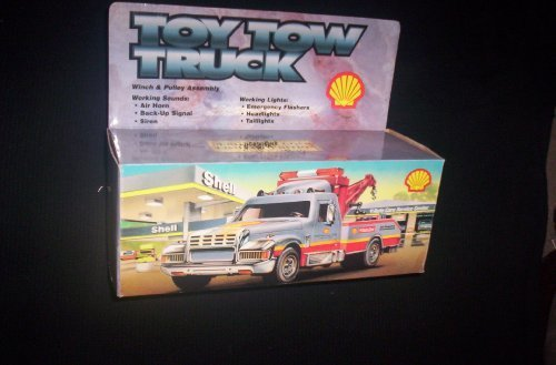 SHELL TOY TOW TRUCK WORKING SOUNDS WORKING LIGHTD by SHELL