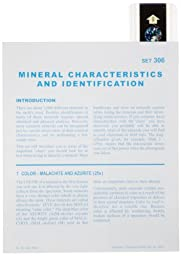 American Educational Microslide Mineral Characteristics and Identification Lesson Plan Set (Box of 15)