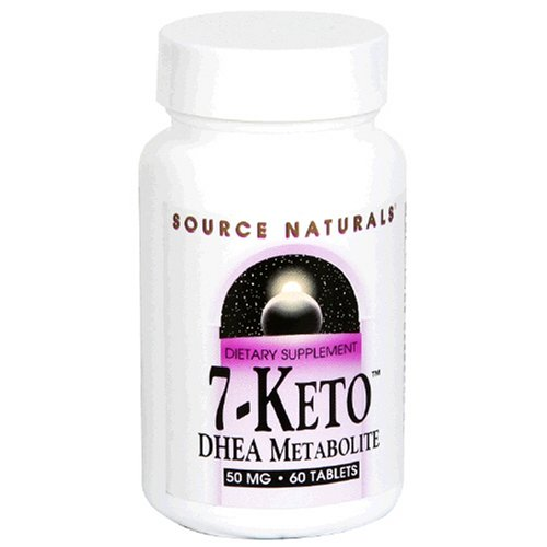Source Naturals 7-Keto DHEA Metabolite 50mg, 60 Tablets