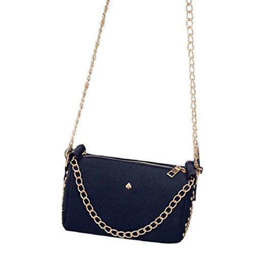 Lookatool Fashion Women Leather Chain Handbag Cross Body Single Shoulder Phone Coin Bag (Black) (Hoover Handbag compare prices)