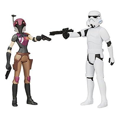 Star Wars Mission Series Figure Set (Sabine Wren and Stormtrooper) by Star Wars