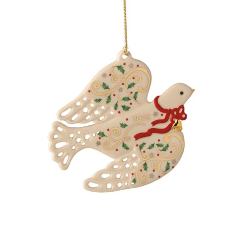 Lenox 2008 Joyous Dove Ornament