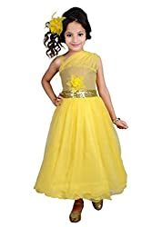 Kokoberry Girls' Gown (RDB754304_Yellow_22)