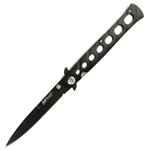 M-Tech Folding Knife Stiletto Black