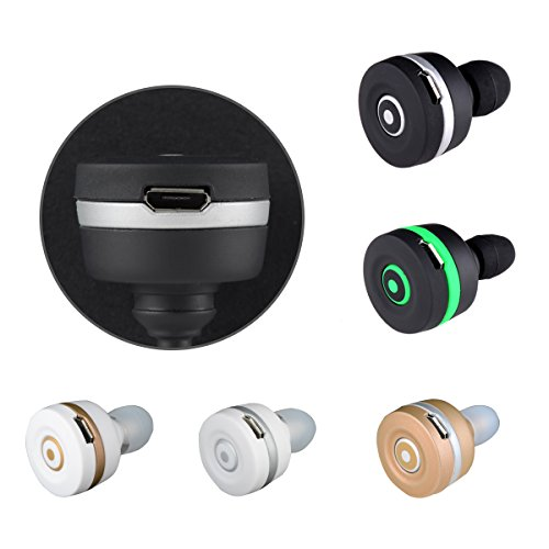 dizaul mini in ear wireless bluetooth headset earphone for. Black Bedroom Furniture Sets. Home Design Ideas