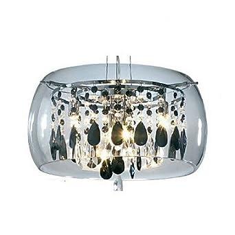 pendant lights crystal mini style bulb. Black Bedroom Furniture Sets. Home Design Ideas