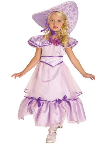 Child Cute Purple Southern Belle Costume