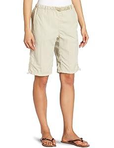 White Sierra Women's Hanalei Bermuda Short, Small, Stone