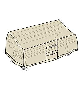 """Bench Outdoor Furniture Cover76""""L X 26""""W X 35""""H, In Sand"""