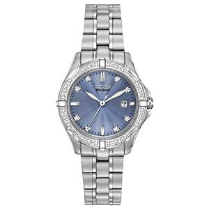 Citizen Women's EW1920-53L Diamonds Analog Display Japanese Quartz Silver Watch