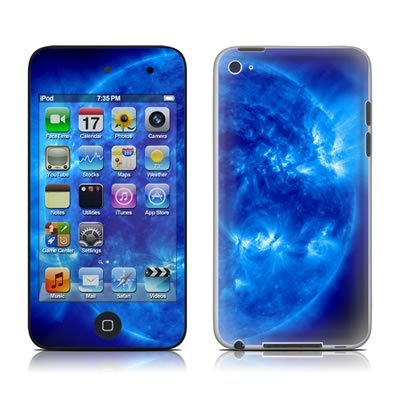 The iPod Touch 4th Generation skins cover the front and back of the device,