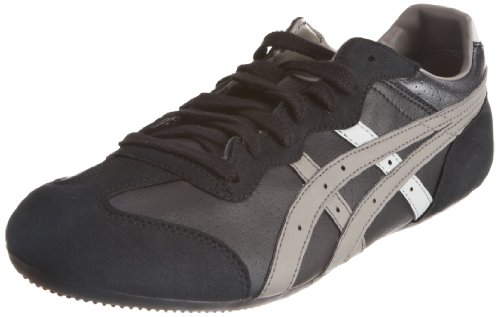 ASICS Men's Whizzer Lo Perf Black/Grey Fashion Trainer H049Y 9011 7 UK