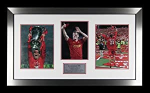 Hand Signed Jamie Carragher Liverpool FC Framed Photo - England + COA by MemorabiliaOutlet