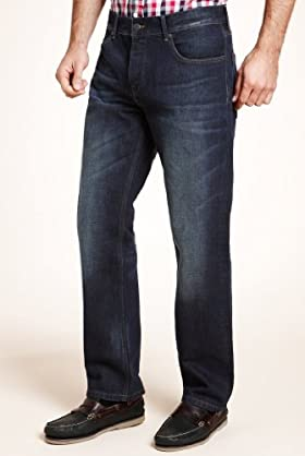 The Heritage Collection Straight Leg Denim Jeans [T17-8200P-S]