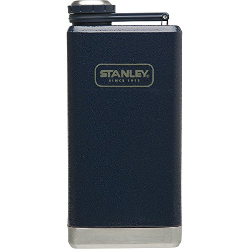 Stanley Adventure Stainless Steel Flask 8oz Hammertone Navy (Stanley Cycle Flask compare prices)
