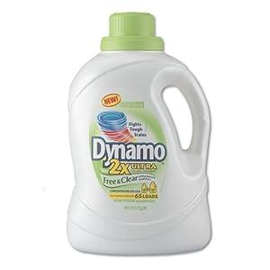 PBC48116 - Dynamo Free amp; Clear Liquid Detergent, 100 Ounce