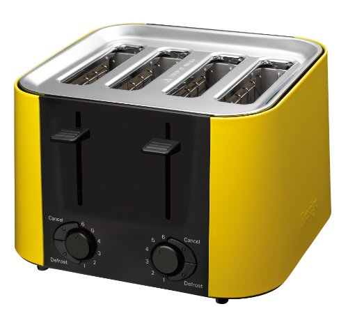 prestige daytona grille pain toaster 4 fentes jaune. Black Bedroom Furniture Sets. Home Design Ideas