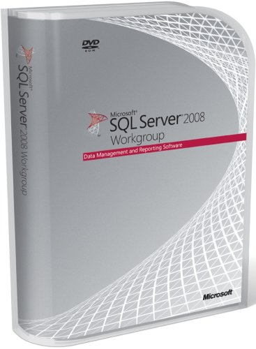 Microsoft SQL Server Workgroup Edition 2008 DVD - 5 Client (PC CD)