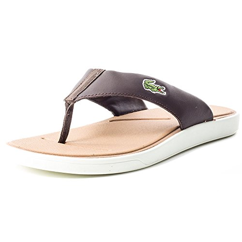 Lacoste L.3 116 2 Mens Synthetic Sandals Brown - 47 EU