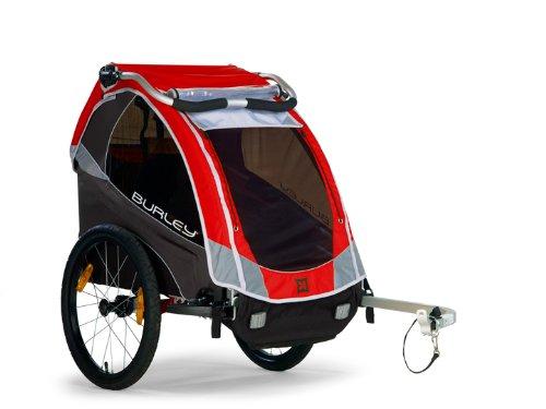 Burley Design Solo Bike Trailer, Red (Burley Bike Trailer Solo compare prices)