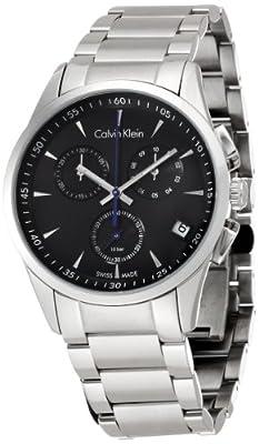 Calvin Klein Mens BOLD Chronograph Watch K5A27141