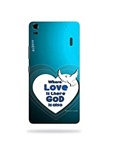 alDivo Premium Quality Printed Mobile Back Cover For Lenovo K3 Note / Lenovo K3 Note Printed Back Case Cover (MKD1039)