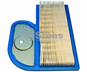 Stens 100-160 Air Filter Replaces Kawasaki 11013-7002 John Deere M137556 Ariens 21538200 Gravely 21538200 Cub Cadet 490-200-0004 by Stens