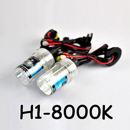 New 35W H1-8000K Car HID Xenon Bulbs Lights Lamps White Blue