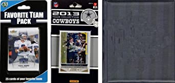 NFL Dallas Cowboys Licensed 2013 Score Team Set and Favorite Player Trading Card Pack by C&I Collectables