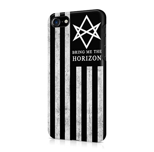 Bretfly Nelson® Bring Me The Horizon nero bandiera USA iPhone 7 plastica dura del telefono Cover - TQXJ541154FUO
