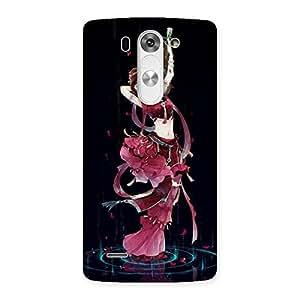 Impressive Princess Pose Back Case Cover for LG G3 Mini