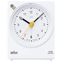 BRAUN Voice Controlled Alarm Clock BNC004WHWH