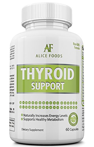 Best Thyroid Support Supplement with Iodine +