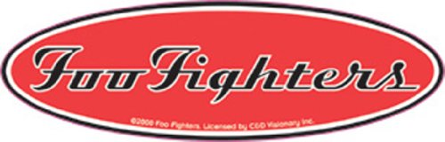 Licenses Products Foo Fighters Oval Logo Sticker