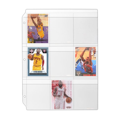 Storesmart - Binder Page For Samples, Swatches, Sports / Trading Cards - Top Load, Weatherproof Flap, Clear Plastic - 25-Pack - Rmstwpf-25 front-273887