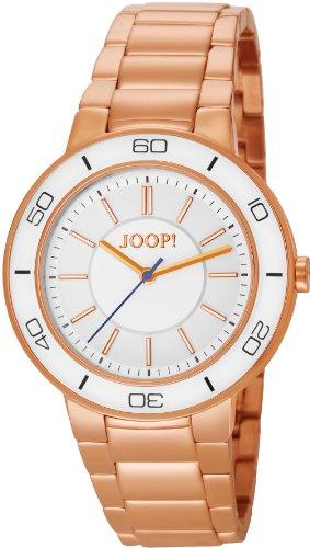Joop  Insight - Reloj de cuarzo para mujer, con correa de acero inoxidable, color dorado