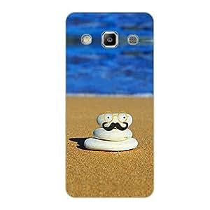 Vibhar printed case back cover for Samsung On5 BeachRock