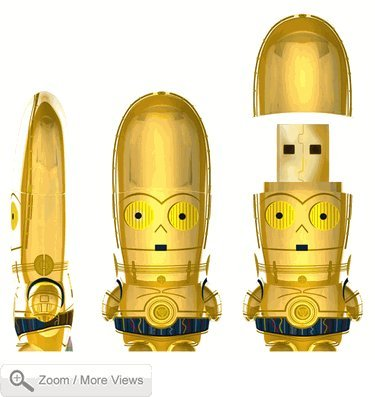 Mimoco Star Wars C-3PO Mimobot 2GB USB Flash Drive from Mimoco