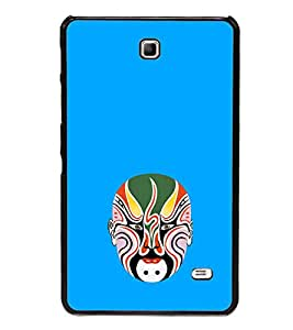 ifasho Designer Phone Back Case Cover Samsung Galaxy Tab 4 (7.0 Inches) T230 T231 T235 LTE ( Owl Tattoo Art Design )