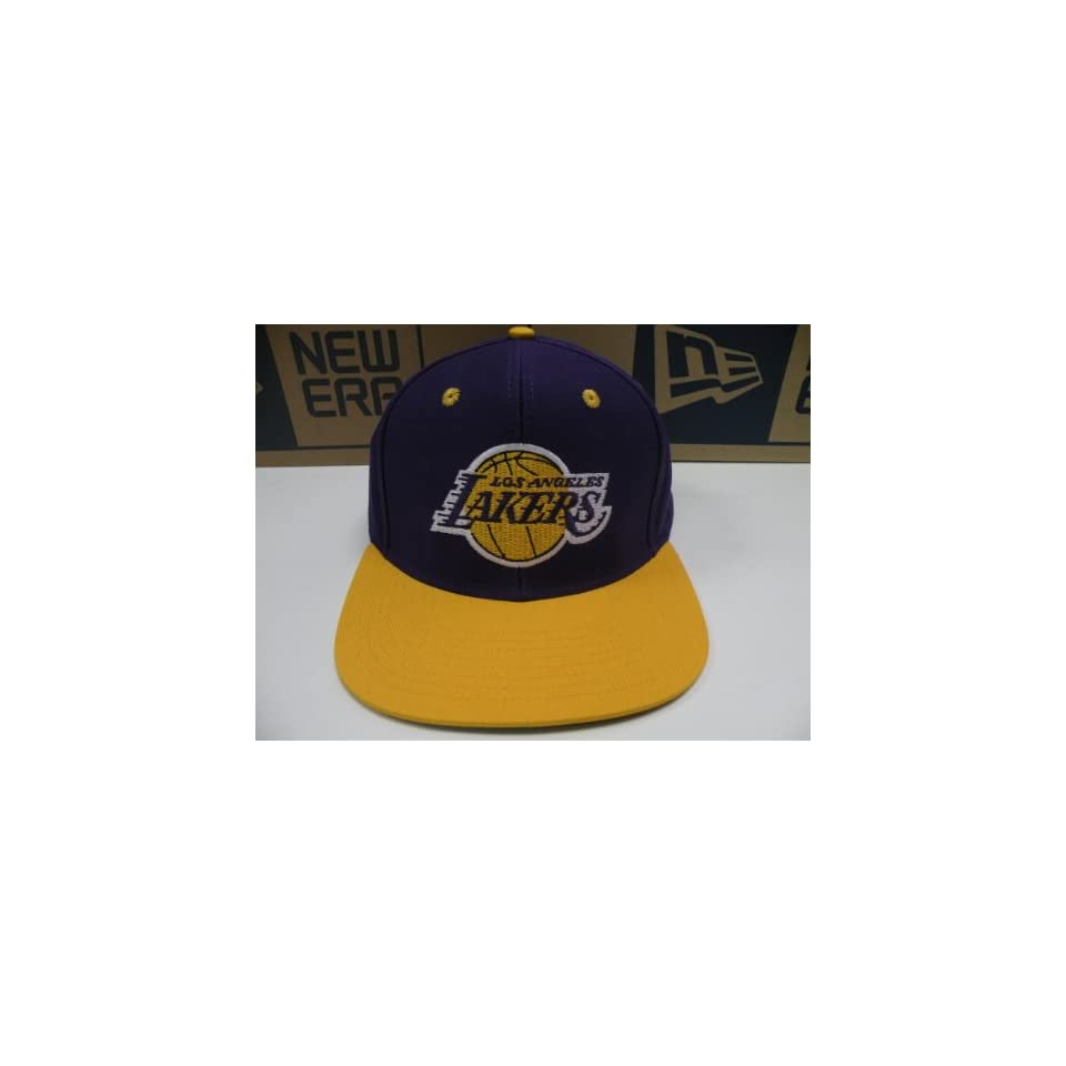 179b038823690 NBA LA Lakers Purple Gold 2 Tone Retro Snapback Cap Old School on ...