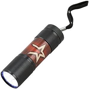 Team%20ProMark MLB Houston Astros LED Flashlight, Small