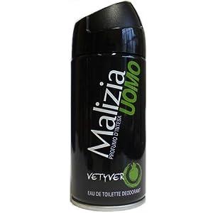 MALIZIA UOMO VETYVER - deodorant EdT 150ml NEUES DESIGN: Amazon.co ...