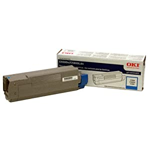 OKI 43324403 Cyan Toner for C5500N C5800LDN 5K Pages