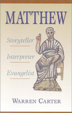 Matthew the Storyteller, Warren Carter