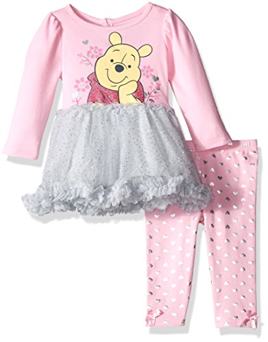 Baby Girls' 2-Piece Disney Winnie the Pooh Tutu Dress and Legging Set