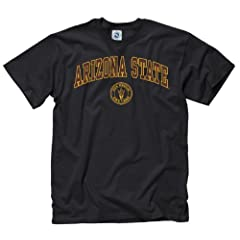 Buy Arizona State Sun Devils Adult Arch and Ring T-Shirt by Unknown