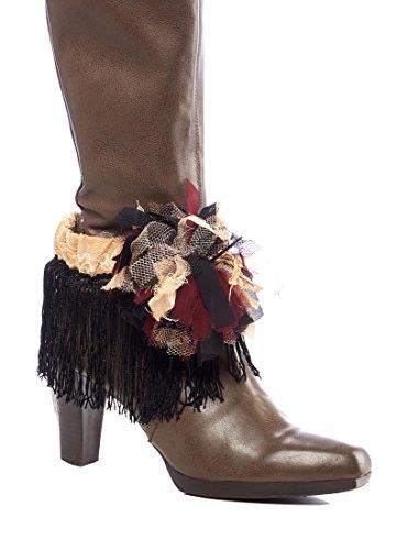 Vintage-Victorian-Boho-Chic-Boot-Anklet-Strap-Bracelet-Accessory