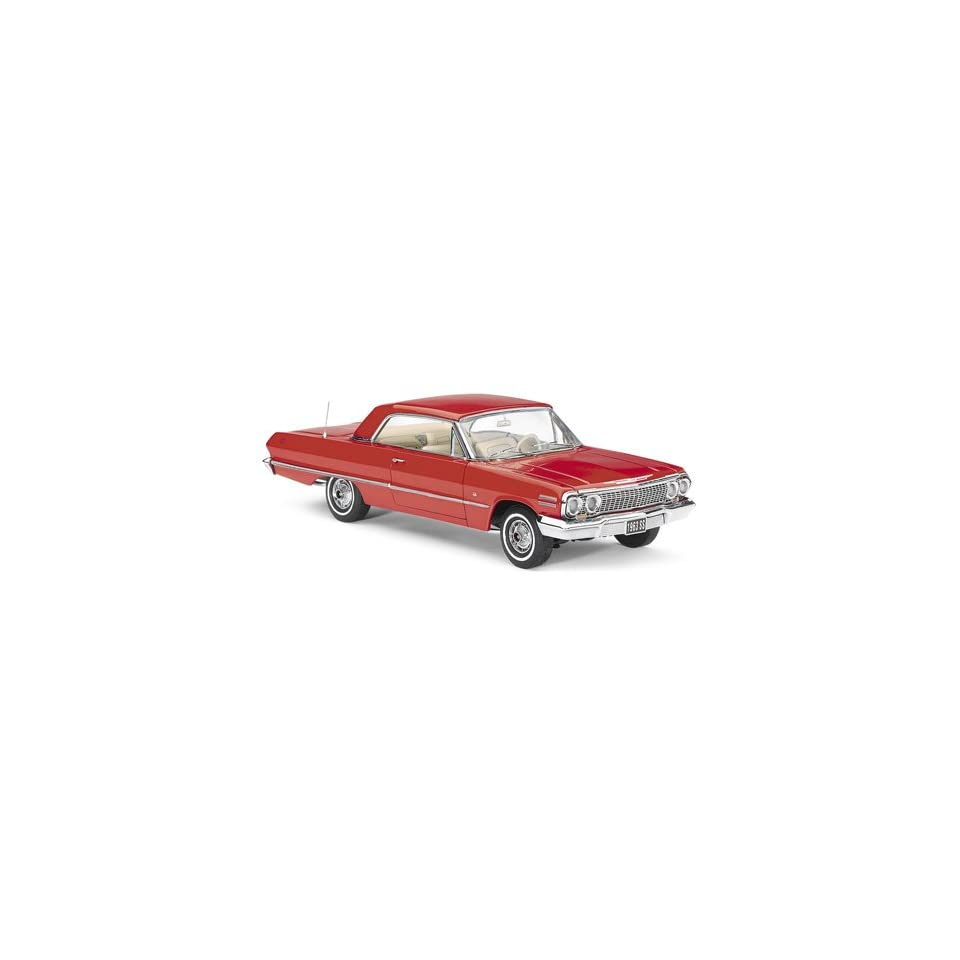 1/24 63 Chevy Impala Coupe Red TFMB11E290
