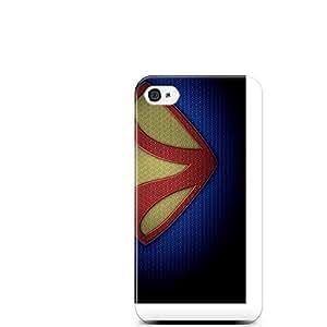 Motivatebox-Apple Iphone 5/5s cover-Man of Steel v Polycarbonate 3D Hard case protective back cover. Premium Quality designer Printed 3D Matte finish hard case back cover.