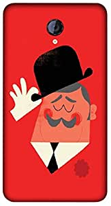 Timpax Hard Back Case Cover Printed Design : Tom the Butler.Exactly Design For : Micromax A106 Unite 2
